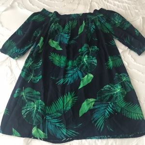 Old Navy Tropical Print Dress